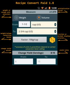 Recipe Convert Paid 1.8 details